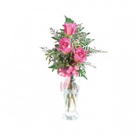 Le bouquet de roses Triple plaisir